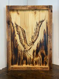 Phoenix Rising Burn Art