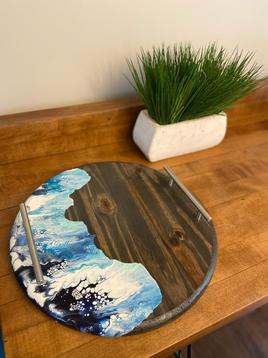 Ocean Decorative Tray