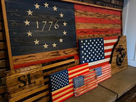 American Flag Variations