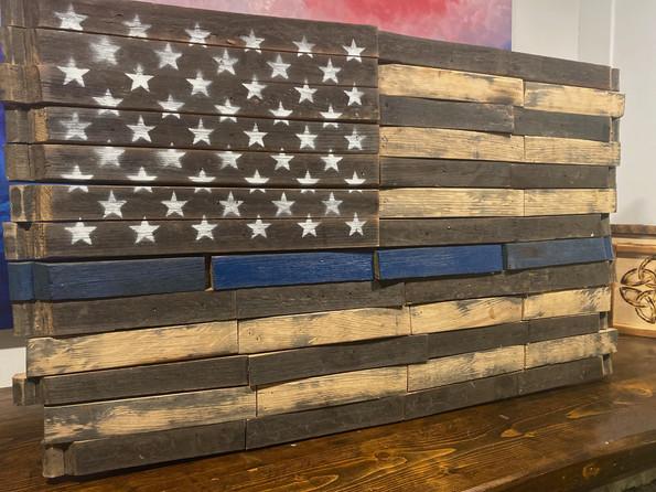 Whiskey Barrel Flag