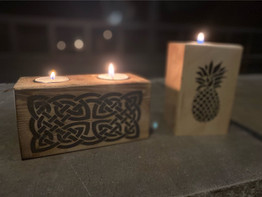 Candle Holders - Celtiv & Pineapple