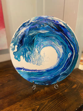 """Indigo Blue Wave"""