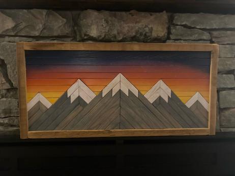 Sunset Mountainscape