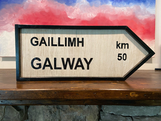 Galway Sign Post