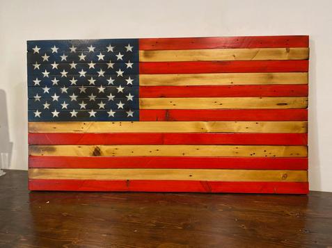 American Flag - Weathered & Worn