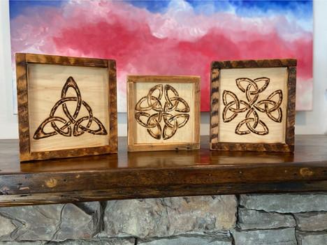 Celtic Burn Art