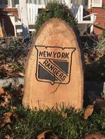 NY Rangers Stump