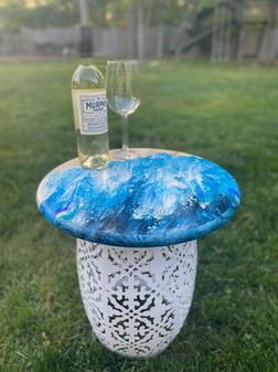 Ocean Pour Outdoor Table