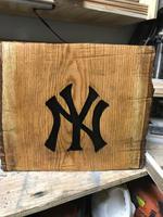 Yankees Garden Stump
