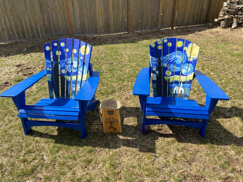 Starry Night Chairs