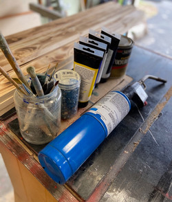 Paint, Brushes, Blowtorches
