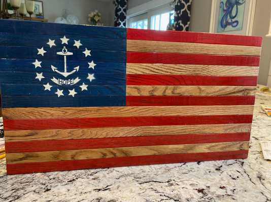 Hope American Flag