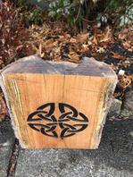 Celtic Knot on Stump