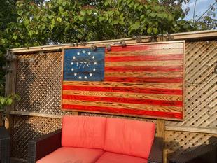 Oversized 1776 Flag (Framed)