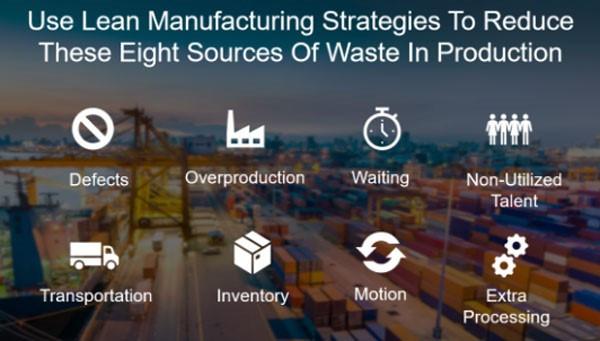 Use Estratégias do Lean Manufacturing para Reduzir estas oito Fontes de Desperdício na Produção