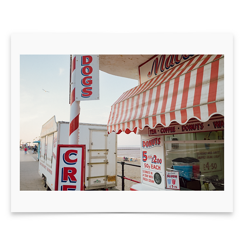 Ice Cream Shop Mounted Print - Dan Baker