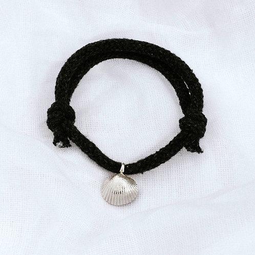 Baby Shell Cotton Cord Bracelet