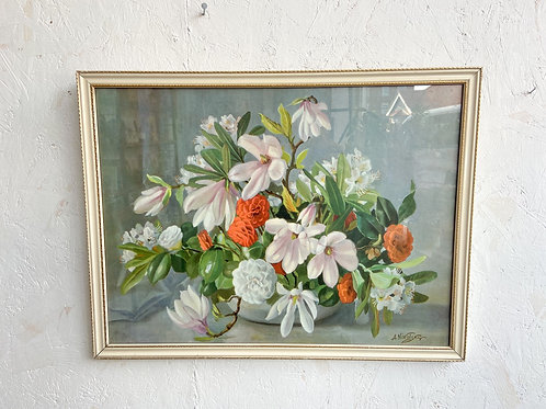 Vintage Nikolsky Floral Print