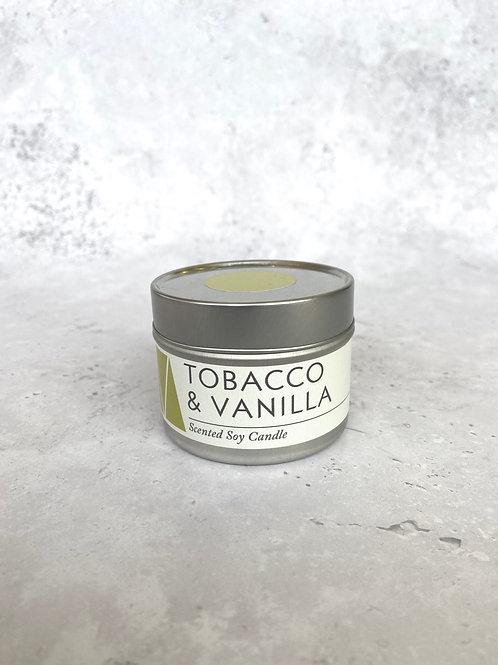 Maranta Tobacco & Vanilla Soy Candle