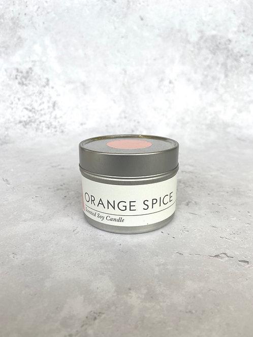 Maranta Orange Spice Soy Candle