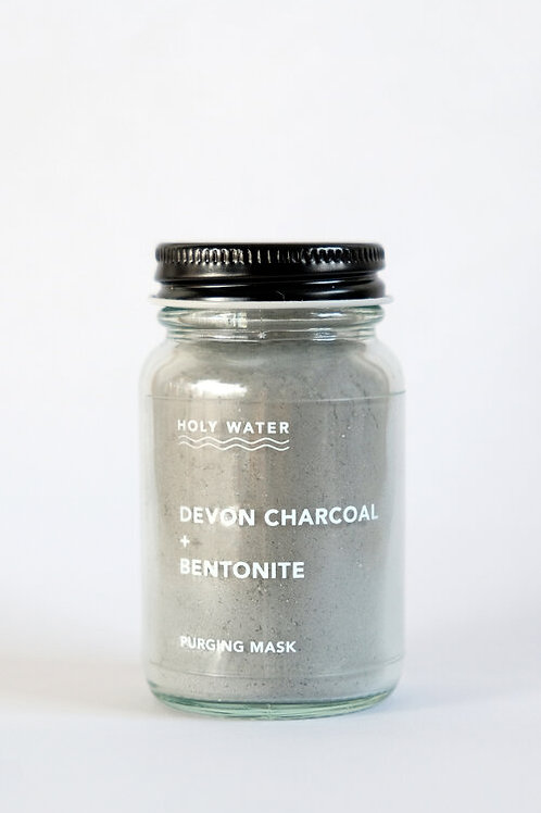 eHoly Water Apothecary - Devonshire Charcoal + Bentonite Purging Mask