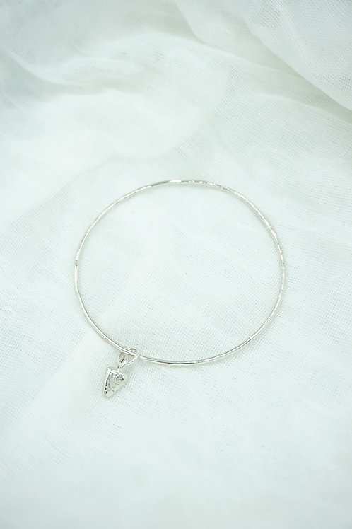 Mini Heart Stack Bangle