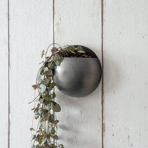 Metal Round Wall Planter