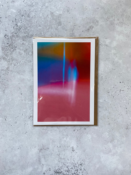 'Nine' A6 Card/Print by Lee Gilby