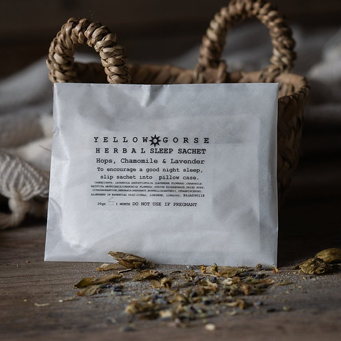 Yellow Gorse Herbal Sleep Sachet