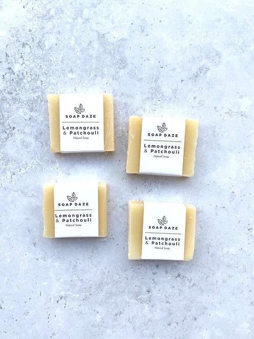 Soap Daze Lemongrass & Patchouli Mini Soap