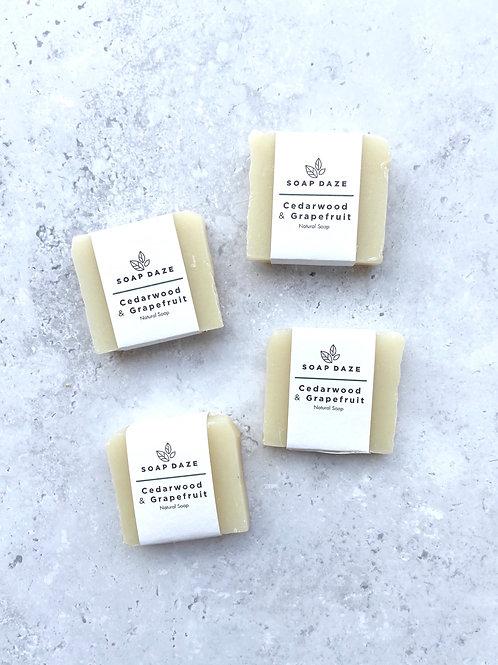 Soap Daze Cedarwood & Grapefruit Mini Soap