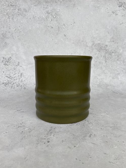 Khaki Plant Pot