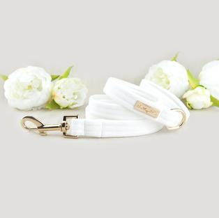 Velvet Leash - White