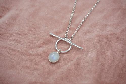 Rainbow Moonstone Felicity Necklace