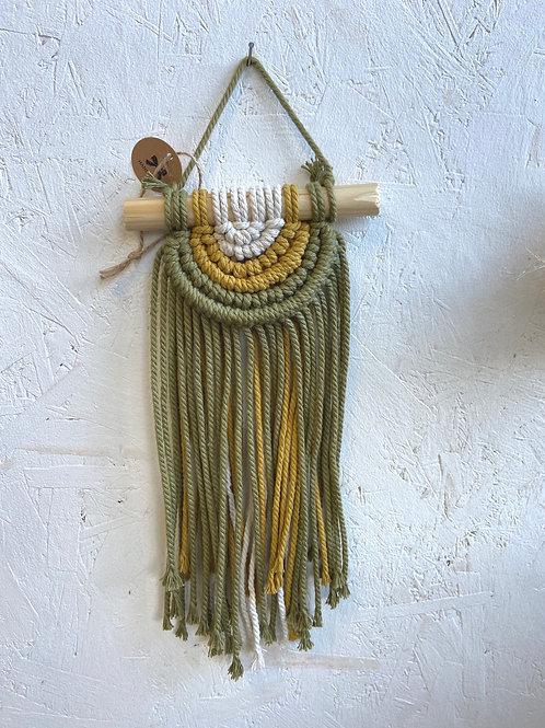 Khaki Macrame Hanging by Lillknot