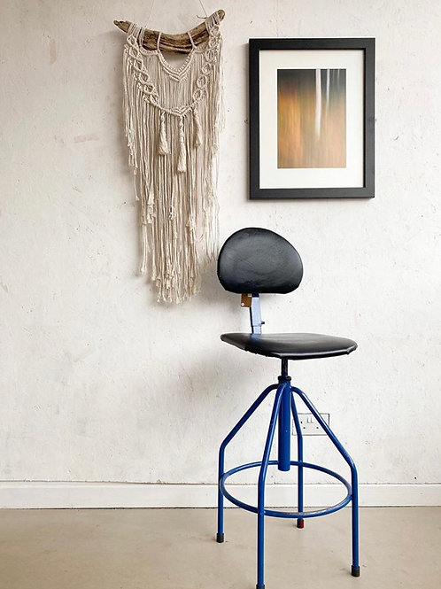 Vintage Machinists Factory Stool