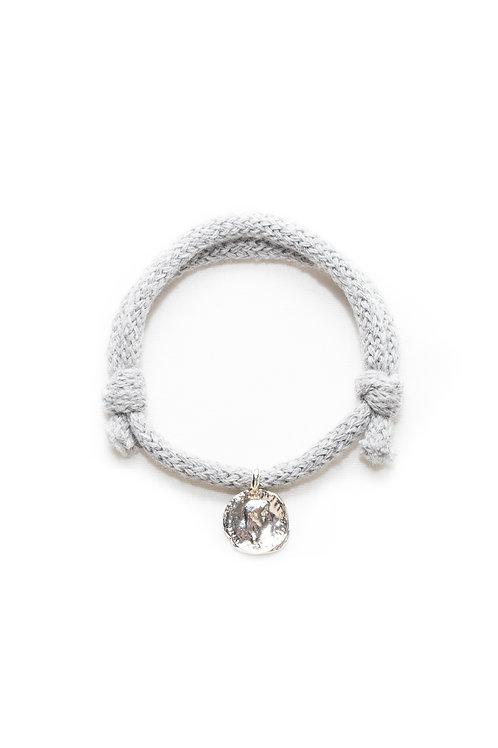 Roman Coin Cotton Cord Bracelet