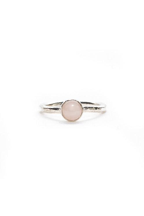 Rose Quartz Stack Ring