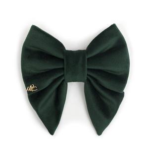 Velvet Sailor Bow - Emerald
