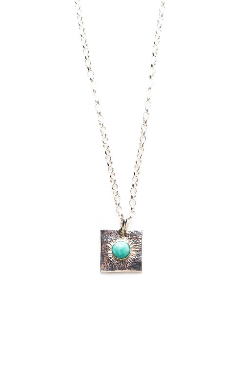 Amazonite Buried Treasure Necklace