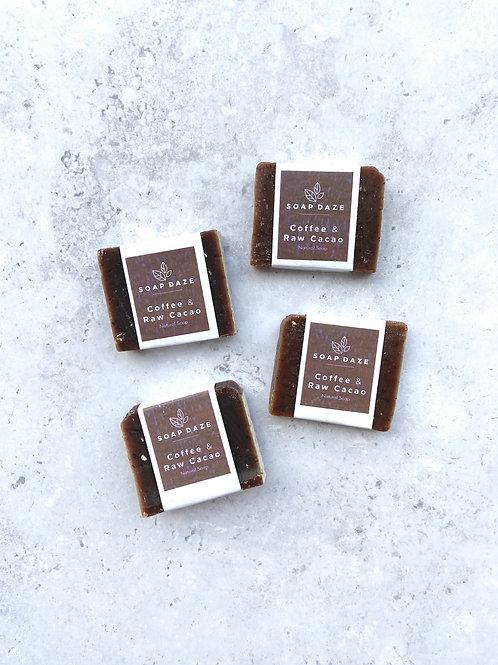 Soap Daze Coffee & Raw Cacao Mini Soap