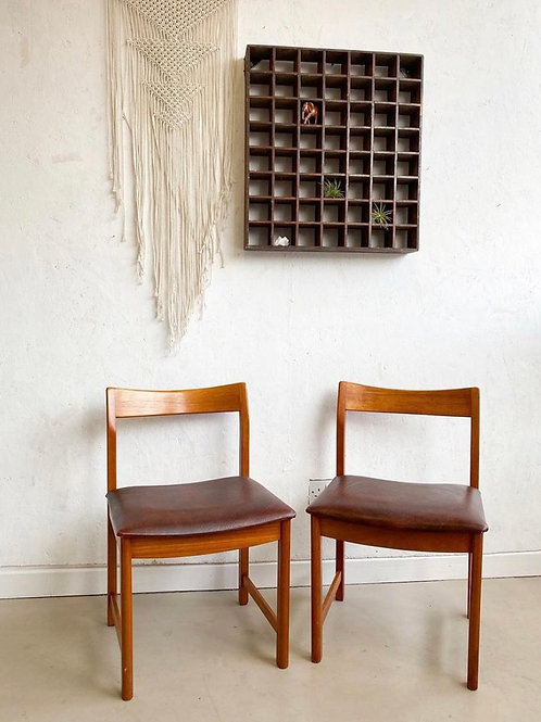 Pair of Midcentury Dining Chairs