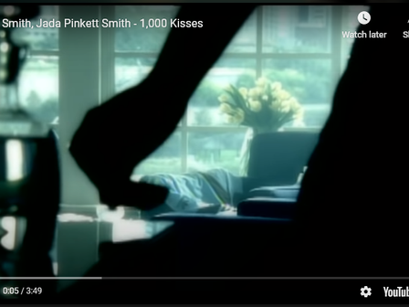 1000 kisses throwback Will and Jada