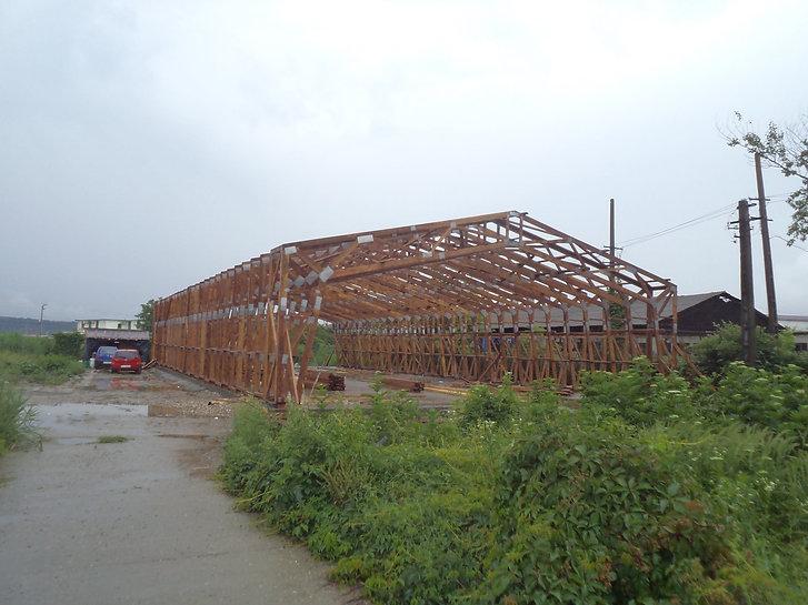 Hala din ferme prefabricate cu deschidere de 15 m | Miradex