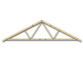 Ferma prefabricata 2 cu pante MIRADEX