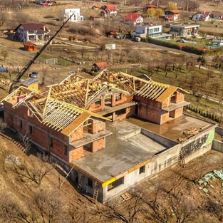 Mega mansarda din Sibiu prefabricata cu ferme Miradex