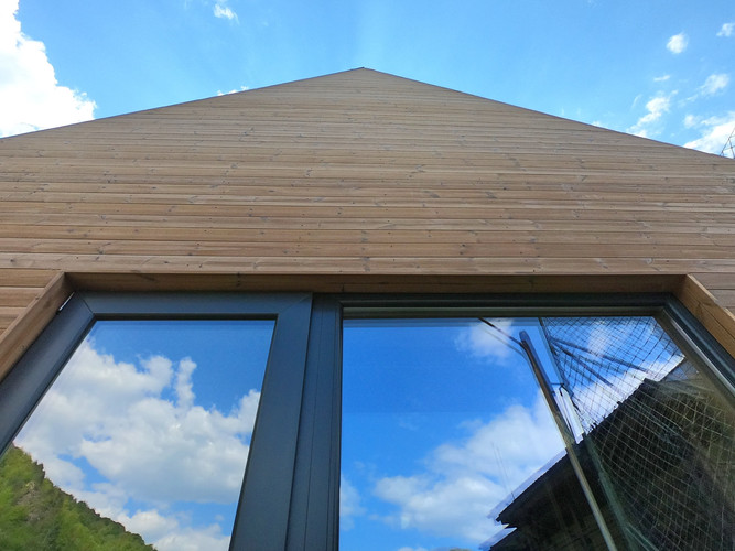 NIDUS Condor #1 - o casă naturală construită în natură