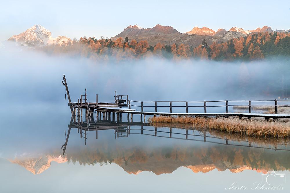 Starzersee bei St. Moritz