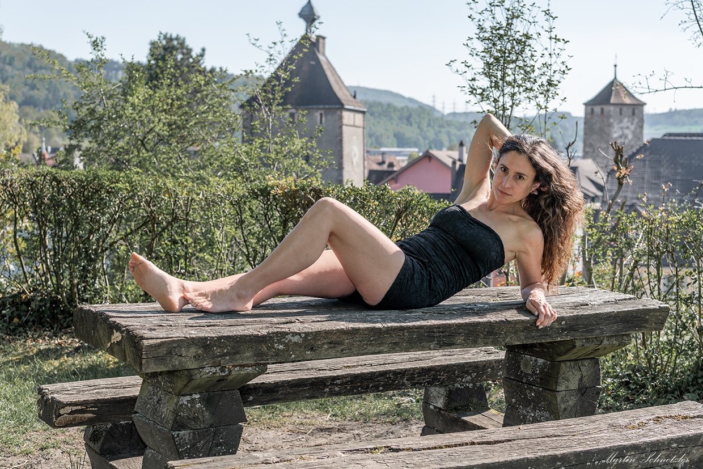 Vor den Kulissen von Laufenburg