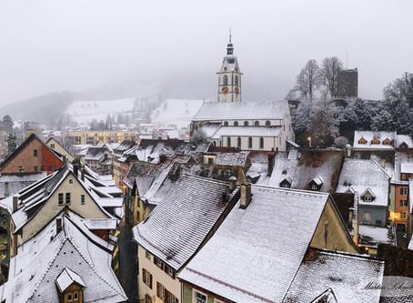Laufenburg | Rhein | Winter | Aargau